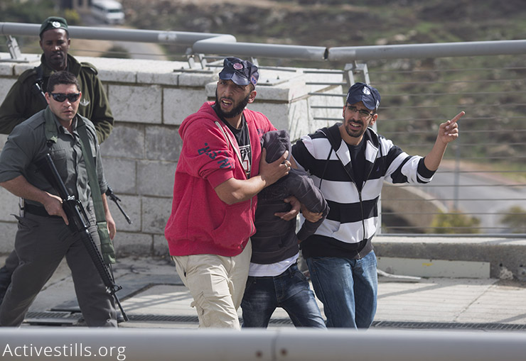 Illustrative photo of Israeli security forces arresting a Palestinian youth in Jerusalem. (Activestills.org)