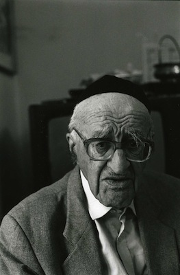 Yeshayahu Leibowitz. (Bracha L. Ettinger/CC-BY-SA 2.5)