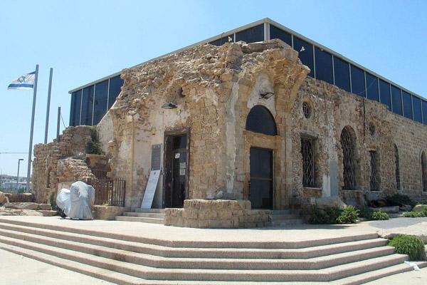 The Etzel Museum (Beit Gidi), Jaffa. (Bukvoed/CC)