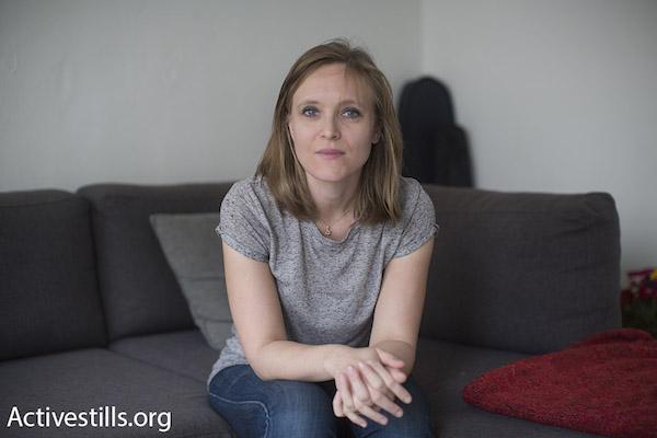 Sarah Arnd Linder (By Oren Ziv/Activestills.org)