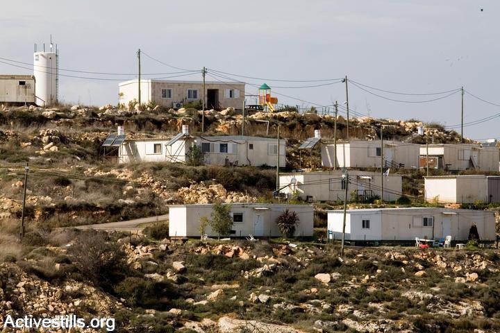 Illustrative photo of Israeli settlement outpost. (photo: Keren Manor/Activestills.org)