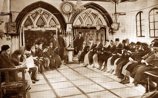 Yohanan Ben Zakai's Sephardic Synagogue, Jerusalem, 1893.