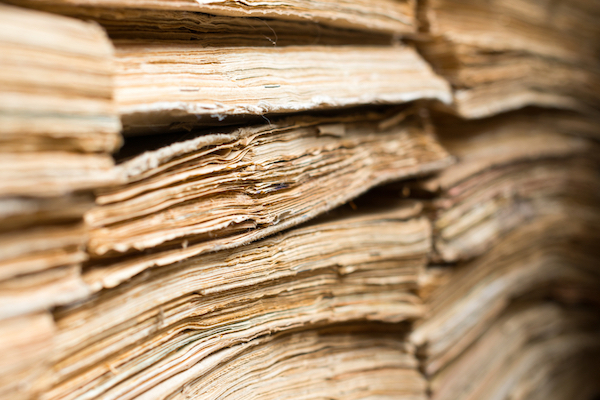 Illustrative photo of archived documents. (Shutterstock.com)
