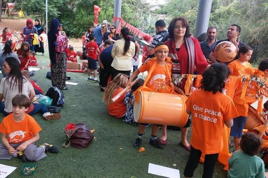 Peace Holiday celebrations at Neve Shalom Wahat al Salam. (Dafna Lobel Lederer)