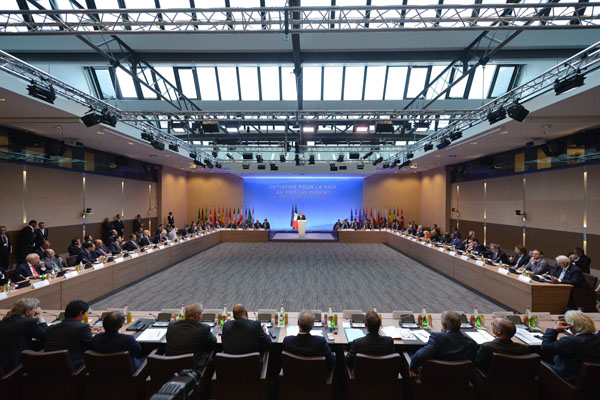 The ministerial meeting on 'Peace Initiative for the Middle East,' Paris, June 3, 2016. (EU Photo)