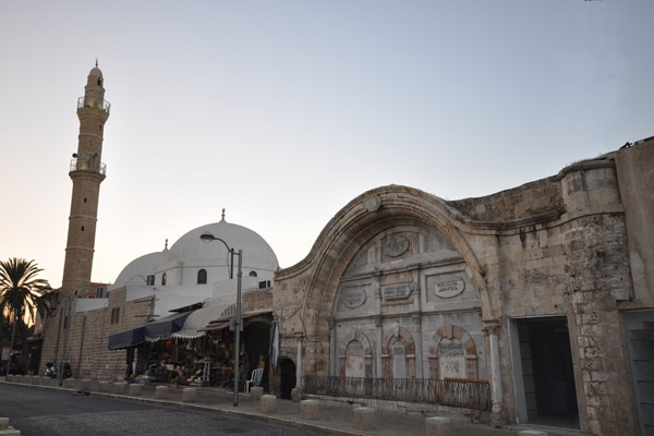Mahmoudiya Mosque, Jaffa's largest and most significant mosque, September 3, 2012. (Jorge Láscar/CC 2.0)