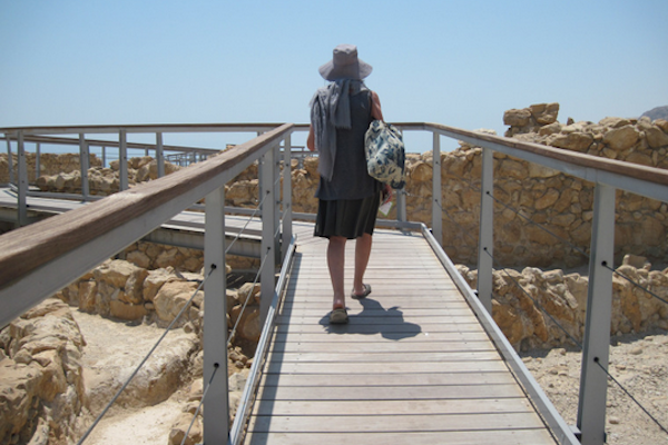 What do Israelis know about the occupation? A tour of Qumran. (Bassam Almohor)
