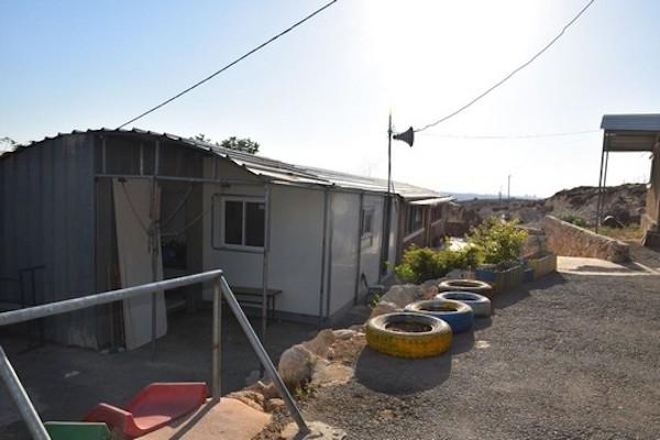 The village of Arab a-Ramadin's children's school. (Rami Ben-Ari)