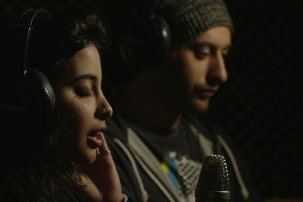 Samar Qupty and Tamer Nafar, the stars of 'Junction 48.'