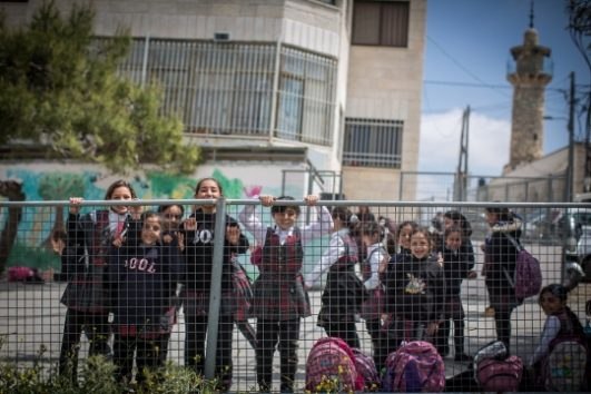 Schoolchildren in EAST JERUSALEM (Hadas Parush/Flash 90)