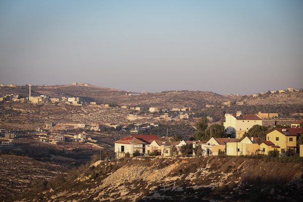 A view of the Israeli settlement of Shilo in the West Bank, October 6, 2016. The new settlement that angered the United States is being portrayed as a neighborhood of Shilo, but Shilo's boundaries have been redrawn to include the site that is over 1 kilometer away. (Flash90)