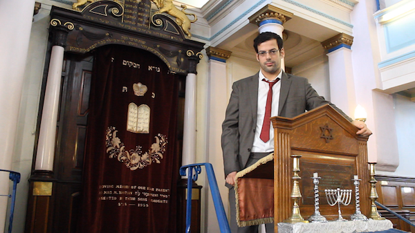 Eran Cohen, who is running for president of the U.K.'s Union of Jewish Students. (Lia Suissa)
