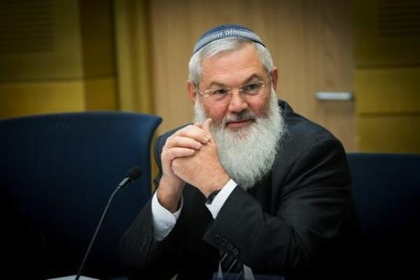 Deputy Defense Minister Eli Ben Dahan. (Flash90)