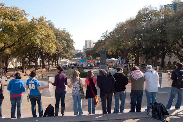 Israel Apartheid Week at the University of Texas, Austin. (Monad68/CC/Flickr)