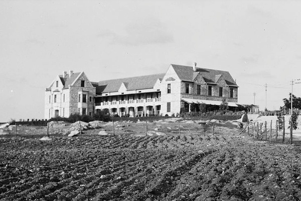 Kadoorie Agricultural School seen in the 1930s.