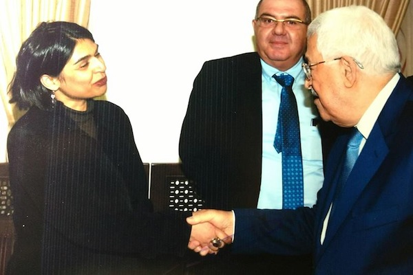 +972 Magazine blogger Orly Noy meets with Palestinian President Mahmoud Abbas.