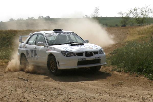 Illustrative photo of an Israeli rally race team training. (Nati Shohat/Flash90)