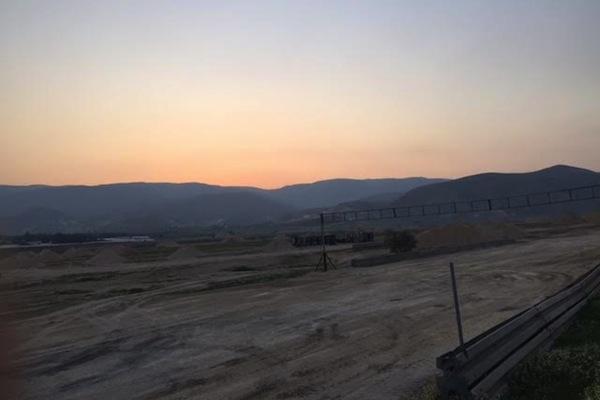 The rallycross track being built in an IDF Firing Zone 904, Jordan Valley, West Bank. (Edo Konrad)