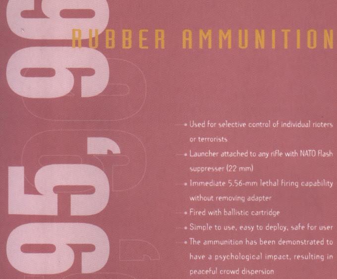 rubber bullet manual