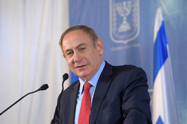 Israeli Prime Minister Benjamin Netanyahu, April 3, 2017. (Amos Ben Gershom/GPO)