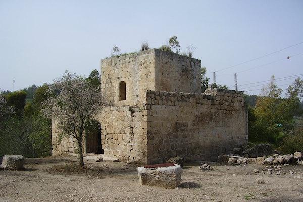 The remains of an Ottoman-era fort at Bab al-Wad/Sha'ar Hagai between Jaffa and Jerusalem, February 14, 2010. (Dr. Avishai Teicher/CC 2.0)