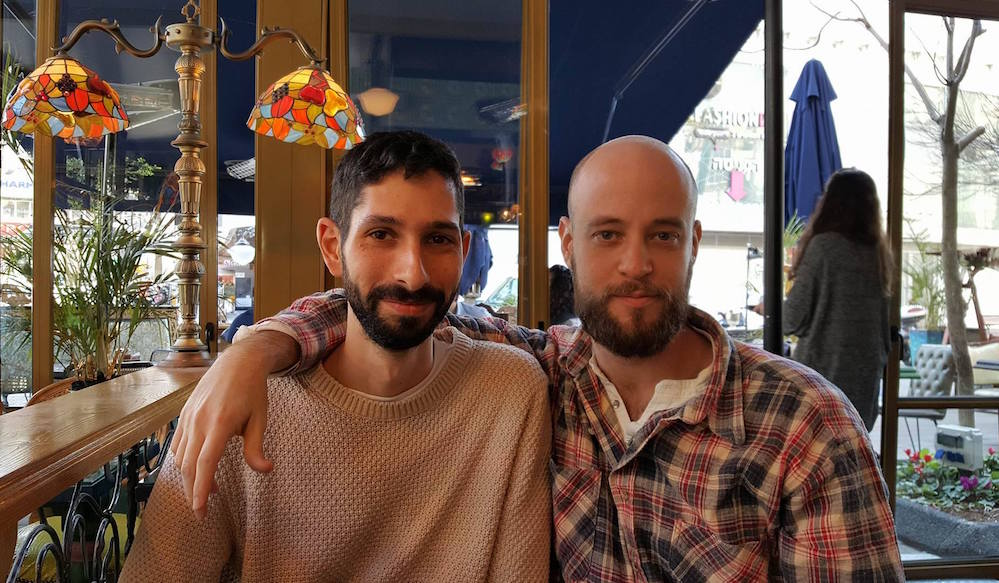 Elad Ben Elul (L) and Yossi Brauman, creators of a new web series on the Yemenite Children's Affair. (Tammy Riklis and Yonit Naaman)