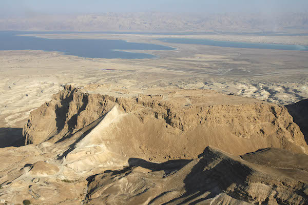 Masada, November 25, 2007. Where are all the hotels? (Michal Fattal/Flash90)