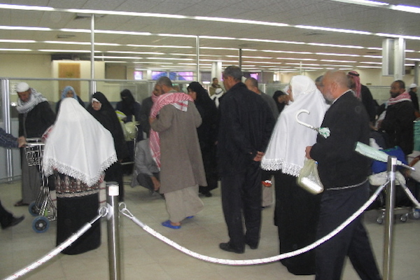 The Rafah border crossing during the seven months when it was fully operational under EUBAM supervision, January 16, 2006. (Patrick Child/EU photo)