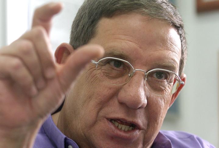 Former head of the Shin Bet, Carmi Gilon. (Orel Cohen/Flash90)