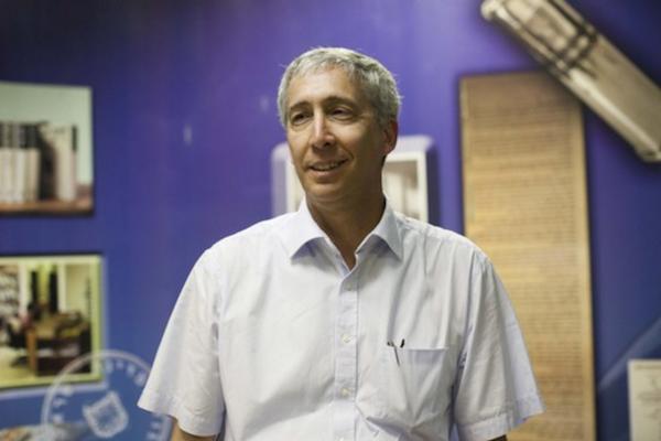 Israeli Chief Archivist Dr. Yaakov Lozowick. (Yonatan Sindel/Flash90)