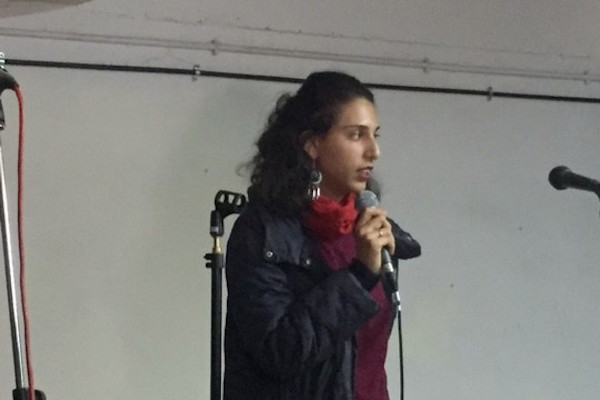 """""""There are many residents of South Tel Aviv who oppose the deportation plan,"""" Inbal Egoz said. (Haggai Matar)"""