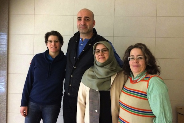 MP Hüda Kaya meets with Israeli academics from 'Academia for Equality,' in Istanbul, Turkey.