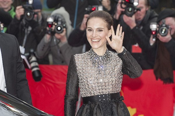 """Natalie Portman at the premiere of """"The Seventh Fire,"""" Haus der Berliner Festspiele, February 7, 2015. (Siebbi/CC BY-SA 3.0)"""