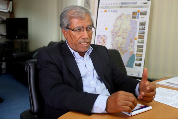 Dr. Khalil Shikaki. 'Hamas wants to emphasize the despair in Gaza, to turn the world's attention to it and tell Israel: we can no longer take care of this ourselves, you are also responsible.'
