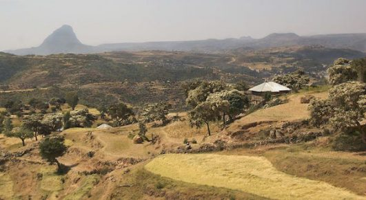 The Tigray region in northern Ethiopia. (A.Davey / Creative Commons)
