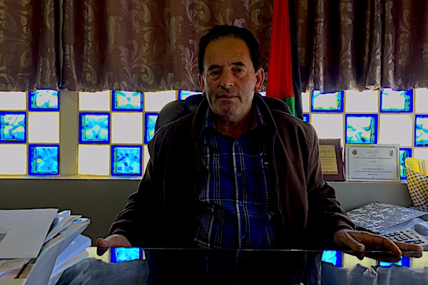 Abdullah Haj Muhammad, the head of Jalud's local council. 'We want to strengthen our village by opening up local businesses. But it may not be enough.'