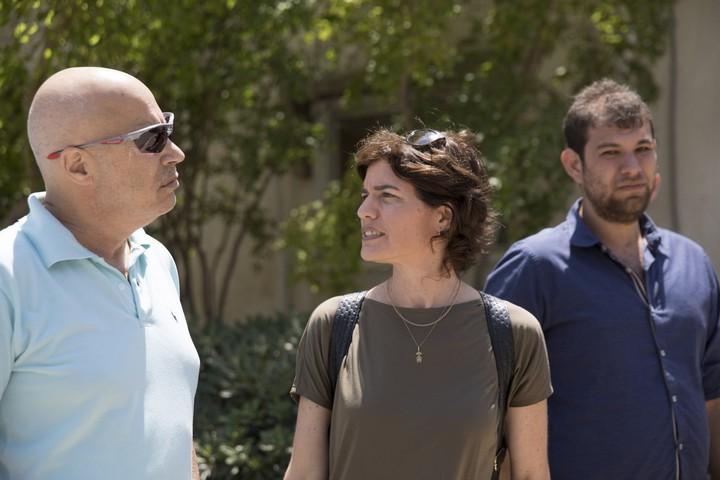 Meretz Chairperson Tamar Zandberg seen in Kibbutz Nirim, May 15, 2018. (Oren Ziv/Activestills.org)