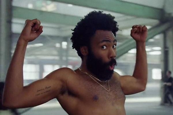 Screenshot from Childish Gambino's music video for 'This is America.'