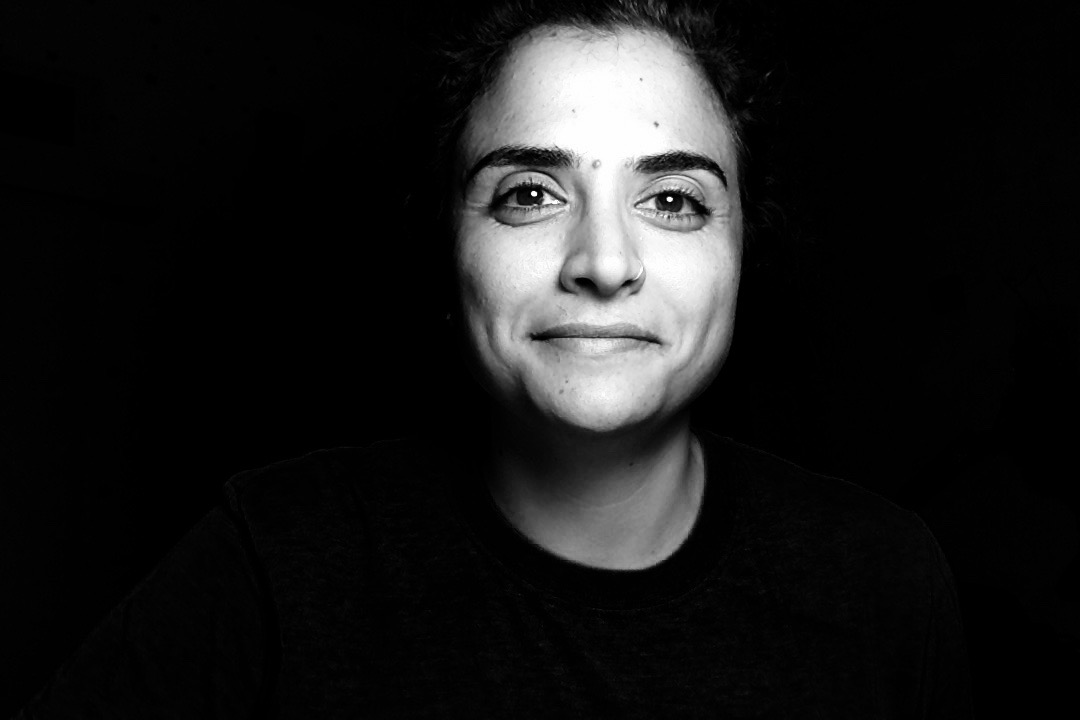 Shadia Qubti, founder and co-producer of Women Behind the Wall, a podcast which explores the intersection of gender, religion and conflict for Palestinian women. (Courtesy of Shadia Qubti)