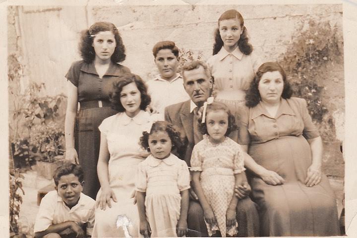 Ahmad Badawi Mustafa Ayoub with his family. (Courtesy of Samer Badawi)