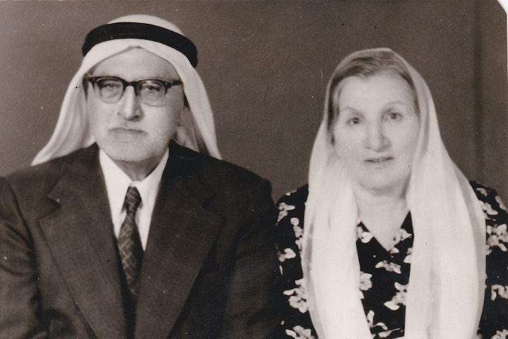 Ahmad Badawi Mustafa Ayoub and his wife, 1981. (Courtesy of Samer Badawi)