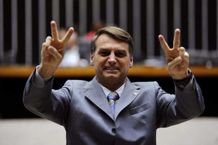 Brazilian President-elect Jair Bolansaro. (Beto Oliveira/CC BY 3.0)