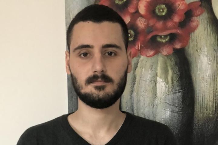 Israeli conscientious objector Adam Rafaelov. (Mesarvot)