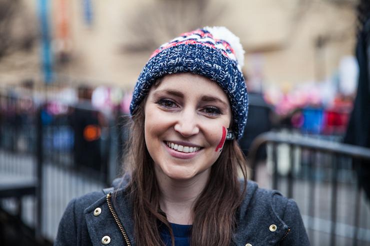 Women's March Communications Director Sophie Ellman-Golan. (Kisha Bari)
