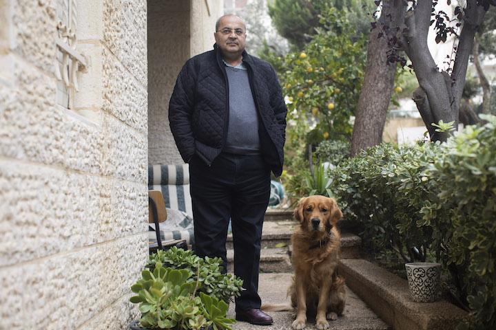 Ahmad Tibi. (Oren Ziv/Activestills.org)