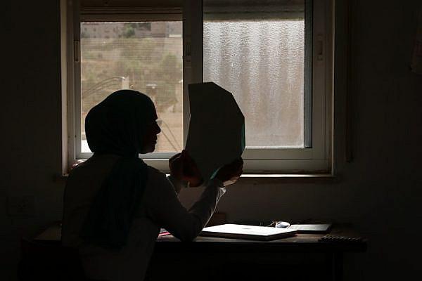 A still from Nur Abu Jnayeh's documentary 'Visit.'