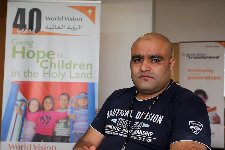 Mohammed Halabi, former director of World Vision in Gaza who was arrested in 2016 by Israel for unsubstantiated claims of diverting funds to Hamas, is still behind bars. (World Vision)