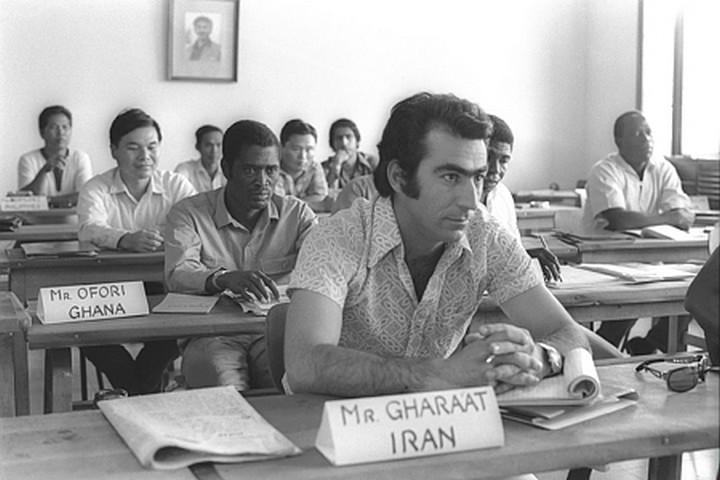 An Iranian representative undergoes training at Beit Berl College, Kfar Saba. (Fritz Cohen/GPO)