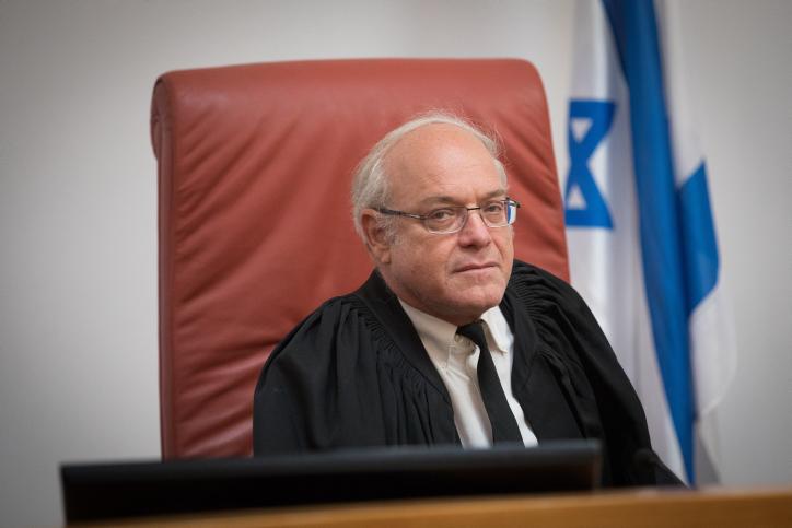 Supreme Court Justice Neal Hendel. (Yonatan Sindel/Flash90)