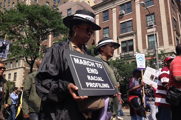 Demonstrators in New York City take part in a march against racial profiling, June 17, 2012. (longislandwins/CC BY 2.0)